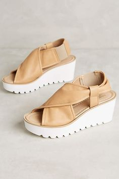 Retail Therapy and Weekend Wants - The English Room Wedge Shoes, Shoes Sandals, Heels, Sock Shoes, Shoe Boots, Summer Feet, Shoes 2015, Cute Wedges, Slip On Sneakers