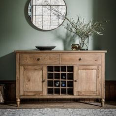 Cookham Large Oak Sideboard
