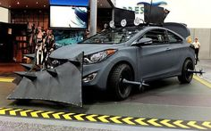 The Zombie Apocalypse car: might also come in handy during rush hour.