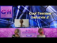 Cool teenage hairstyle