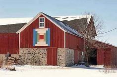 Barn Quilts and the American Quilt Trail: Let it Snow!