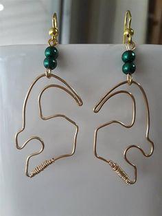 Loki Helmet Inspired Earrings