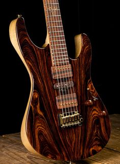 2016 Collection Suhr Modern Custom Cocobolo / Korina Natural Gloss | Reverb
