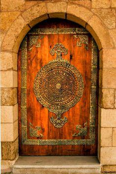 The door at Salah ElDin Citadel in Cairo, Egypt 11796176_10207399482694491_2924085157683349525_n.jpg (643×960)