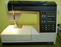 Montgomery Wards 2001 Computer Sewing Machine from M Craft, Montgomery Ward, Sewing Machines, 1980s, Anos 80, Treadle Sewing Machines