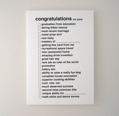 Fancy - All Purpose Congratulations Greeting Card