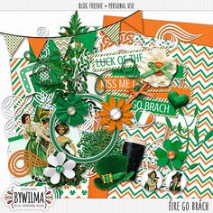Freebie St. Patrick's Day kit byWilma