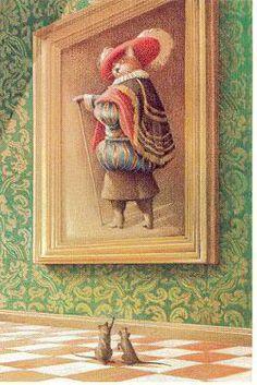 Fred Marcellino - Puss in Boots Cat Attack, Cat Mouse, Kawaii Cat, Portrait Art, Portraits, Cat Art, Illustrators, Fairy Tales, Boots