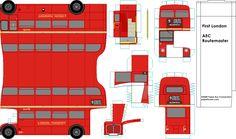 paper london bus