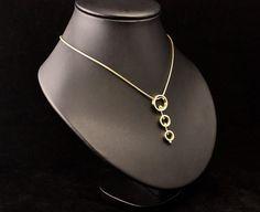 Prachtige Gouden hanger, vervaardigt van oud goud van de klant. #goudsmidmetpassie
