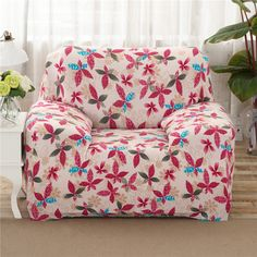 25 46USD Colorful Leaves Print Elastic Sofa Cover For Single Double Three  Four Seat Decorative