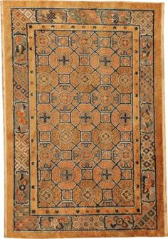 Antique Silk Chinese Oriental Rug with Metallic Threading #44478  http://nazmiyalantiquerugs.com/antique-rugs/chinese/