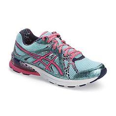 ASICS Women's GEL-Preleus Blue/Neon Pink Running Shoe