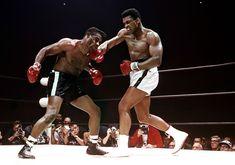 Lawrence Schiller, Muhammad Ali defeating Floyd Patterson, Las Vegas, November 1965