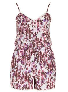 Purple Floral Playsuit #DorothyPerkins Short Violet, Floral Playsuit, Playsuits, Dress To Impress, Rompers, Purple, How To Wear, Outfits, Clothes