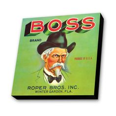 Boss Vintage Advertisement