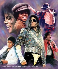 Michael Jackson - The King of Pop Wishum Gregory Fine Art Print Poster
