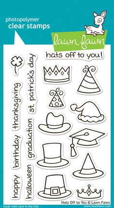 hats off to you | Lawn Fawn