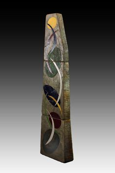 Five contemporary American ceramic artists that use abstract concepts in their decorative styles that I feel are a skilful and intuitive representation of this deep and fascinating medium. Aboriginal Painting, Outdoor Art, Ceramic Artists, Interior Lighting, Sculptures, Pottery, Clay, Ceramics, Lights