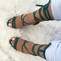 Shop hot shoes and fashionable, trendy high heels. Discover amazing deals and coupon gifts from trusted online shoe shops. Hot Shoes, Crazy Shoes, Me Too Shoes, Women's Shoes, Lace Heels, Lace Up Sandals, Peep Toe, Gladiator Sandals Heels, Online Shopping Shoes