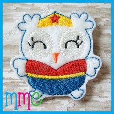 Wonder Owl Feltie