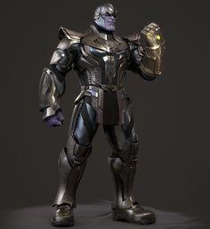 Thanos Marvel, Marvel Dc, Marvel Comics, Avengers Headquarters, Ishikawa, Tough Guy, Guardians Of The Galaxy, Concept Art, Fanart