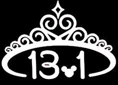 disney+princess+marathon+tatoos   Princess Half Marathon Inspired Vinyl Decal. ...   for the love of Di ...