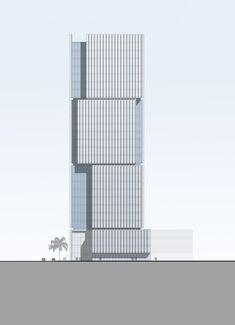 Al Hilal Bank Office Tower,Elevation