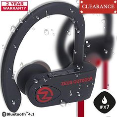 #cell High-tech innovations. Premium quality. Incredible sound. WHY is #ZEUS OUTDOOR the BEST CHOICE in #BLUETOOTH HEADPHONES? GET 100% SATISFACTION or GET a REFU...
