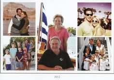 Miss Honoria Glossip:  Greek Royal Christmas Card 2012-Top left clockwise-Nicholas and Tatiana, Philipos and Theodora (the youngest siblings), Alexia and Carlos w/ children Arietta, Ana, Carlos and Amelia, Pavlos and Marie-Chantal w/ children Maria-Olympia, Constantine, Achileas, Olydsseas, Aristide, center-King Constantine and Queen Anne Marie