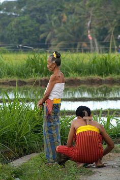 Beautiful - Women working in the field, Bali, Indonesia