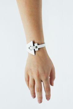Image of PENDU x Zana Bayne Bracelet - White