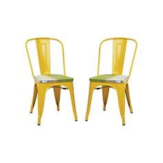 OSP Designs 2-piece Bristow Vintage Dining Chair Set, Multicolor