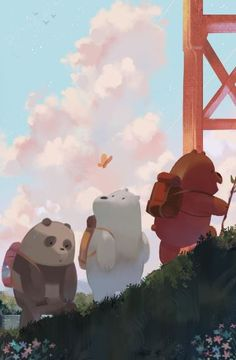 We Bare Bears Wallpaper with bare bears images and we bare bears pic