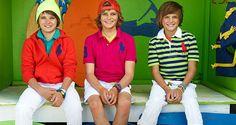 Ralph Lauren Kids: il colore domina nella collezione SS 2014 per bambini #ralphlaurenkids