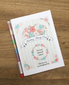 A6 Children's Kids Wedding Activity Pack by DesignsbyDaisyandMax