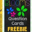 These+question+card+FREEBIES+are+based+upon+Bloom's+Taxonomy.+Use+them+to+promote+higher-level+thinking+during+lessons+and+after+read-alouds.+Color...