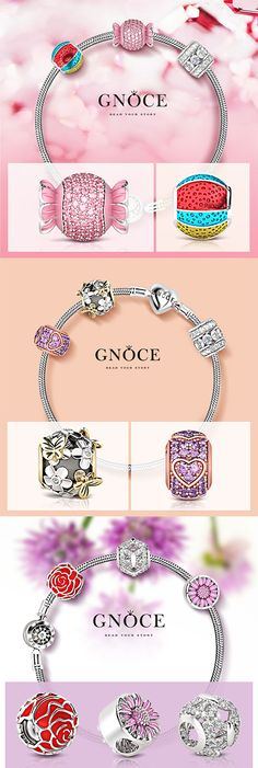 "All good things are in nature because when you stop and look around, the life is pretty amazing and wonderful. Nature charms: http://www.gnoce.com/charm/nature.html Use code ""SALE20"" for extra 20% off.  gnoce #gnocecharms #jewelry #stopper #bracelet #like #lucky #nature #flower #animal #design #fashion #girl #cool #gift #art #charm #bead #silver #idea #discount #coupon #code"