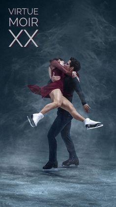 Intense Virtue And Moir, Tessa Virtue Scott Moir, Tessa And Scott, Johnny Weir, Ice Skaters, O Canada, Ice Dance, Figure Skating Dresses, Believe In Magic