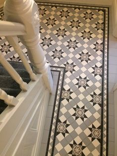 Tile shop in Derby supplying slate, marble, mosaic, porecelain, terracotta and victorian tiles for bathrooms and kitchens Victorian Hallway Tiles, Edwardian Hallway, Victorian Style Bathroom, Tiled Hallway, Victorian Flooring, Entryway Flooring, Hall Flooring, Bathroom Floor Tiles, Tile Floor