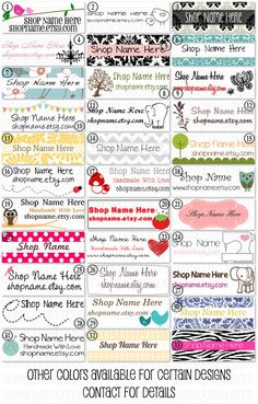 "100 Handmade Sew On Cotton Fabric Labels 2"" x .75"". $16.00, via Etsy."