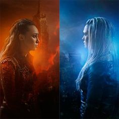 Fire and Ice. Lexa and Clarke