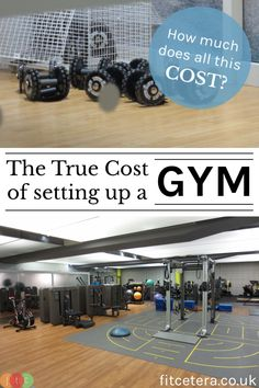 Ever thought of opening your own gym space? Check this out first... The True Cost of Setting Up a Gym - fitcetera