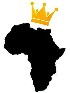 Black Love Art, Black Girl Art, Art Girl, Africa Drawing, Africa Tattoos, African Art Projects, African Artwork, Black Art Pictures, Africa Art