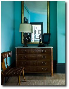 The 6 Most Brilliant Painted Rooms From Designer Steven Gambrel