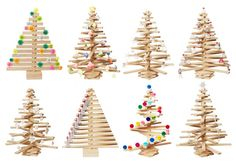 One Two Tree Wooden Christmas Tree sustainably made in