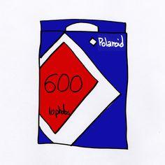 Polaroid 600 original. unpeuflou.