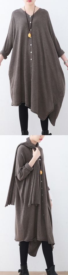 $96.00- light brown sweater  knitted blouses  quality batwing sleeve #knit#sweater#knitsweater#omychic