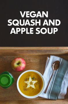 soup flavored with a sweet blend of apples, squash, pepper and pumpkin ...