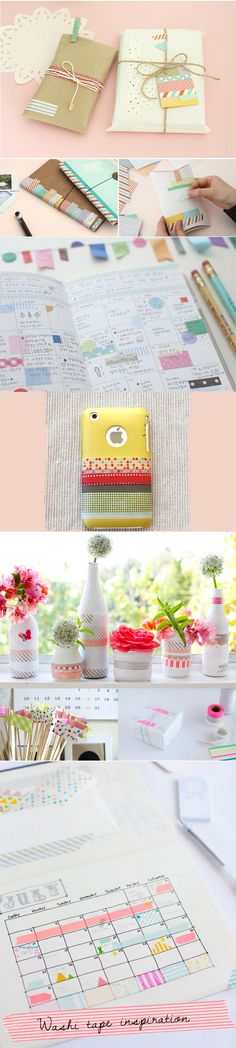 The last days of Spring: Washi Tape inspiration